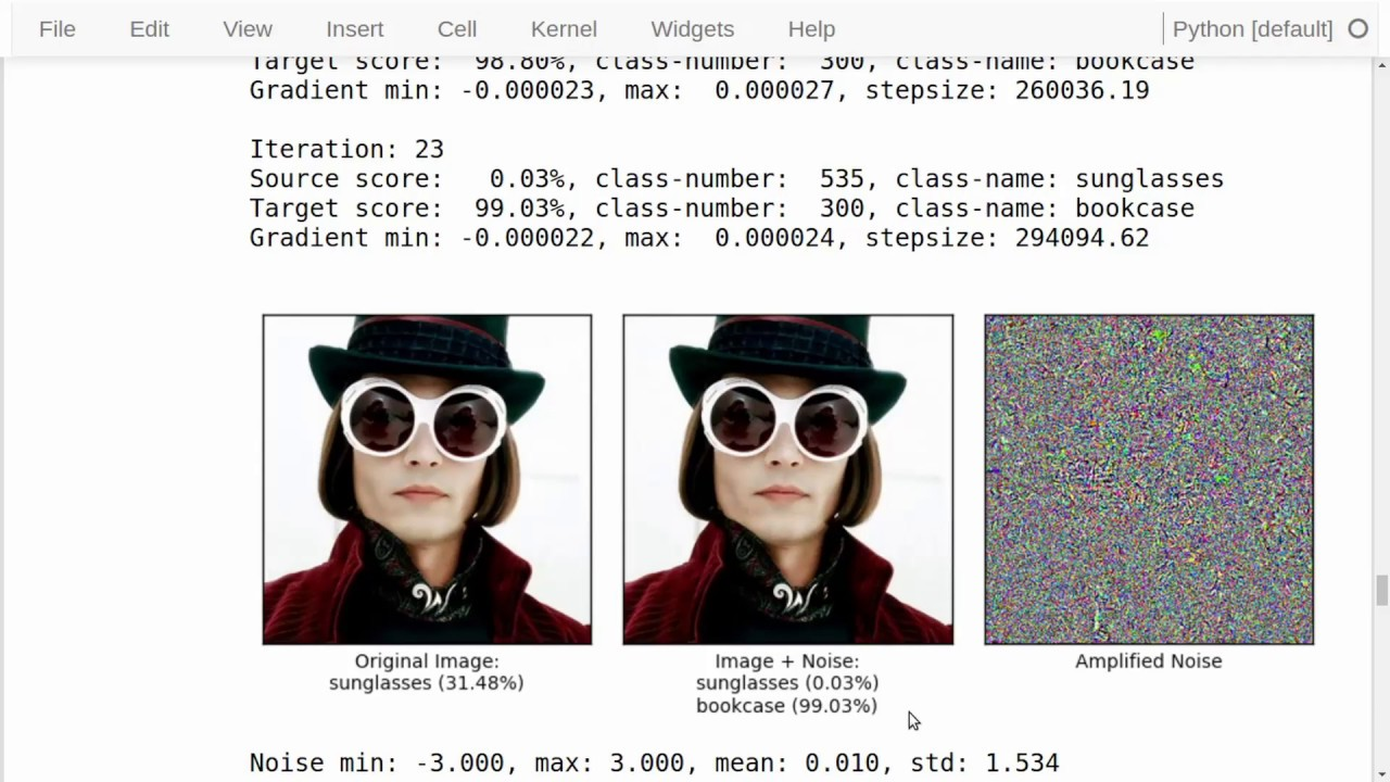 TensorFlow Tutorial #11 Adversarial Examples