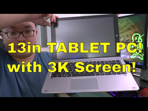 BEST TABLET PC - Chuwi Hi13, Windows 10 with 3K Screen and Stylus!