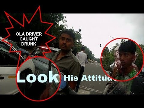 DRUNK OLA CAB DRIVER ( HR 55 AA 2179) | PLEASE SHARE | Did I saved Someones Life