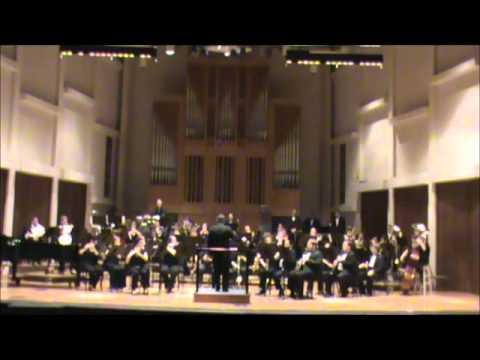 John Henry Symphony by Jeffrey Brooks World Premiere MTSU Wind Ensemble Dr. Reed Thomas