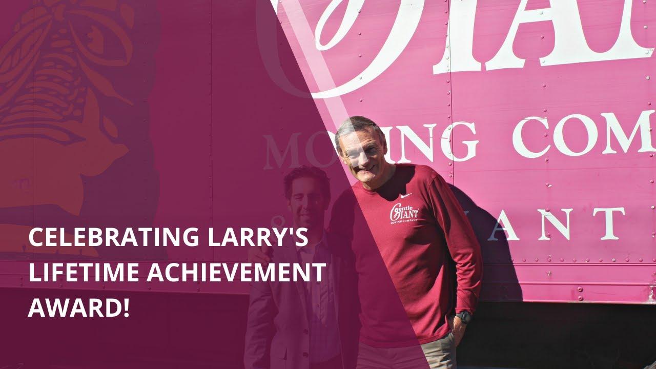 Download Gentle Giant Celebrates Larry's Lifetime Achievement Award