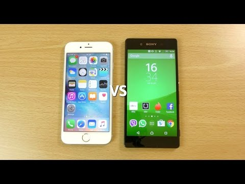 S8+ vs iphone 7 Plus vs xperia z3