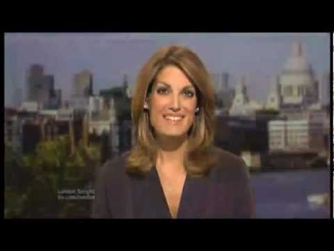 Louise Hulland, ITV News London (ITV) Olympic Statue