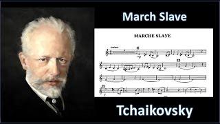 Marche Slave by P.Tchaikovsky (1840-1893) arr. L.P.Laurendeau