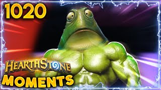 Maybe The BEST LETHAL  Ve EVER Seen  Hearthstone Daily Moments Ep.1020