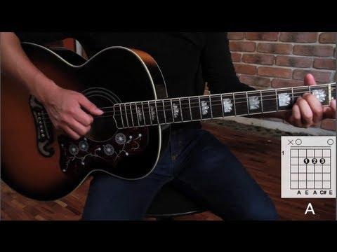 "Como tocar ""Brillas"" de León Larregui - Tutorial Guitarra (Acordes) HD"
