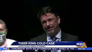 WTKR Coverage of Disappearance of Don Lewis