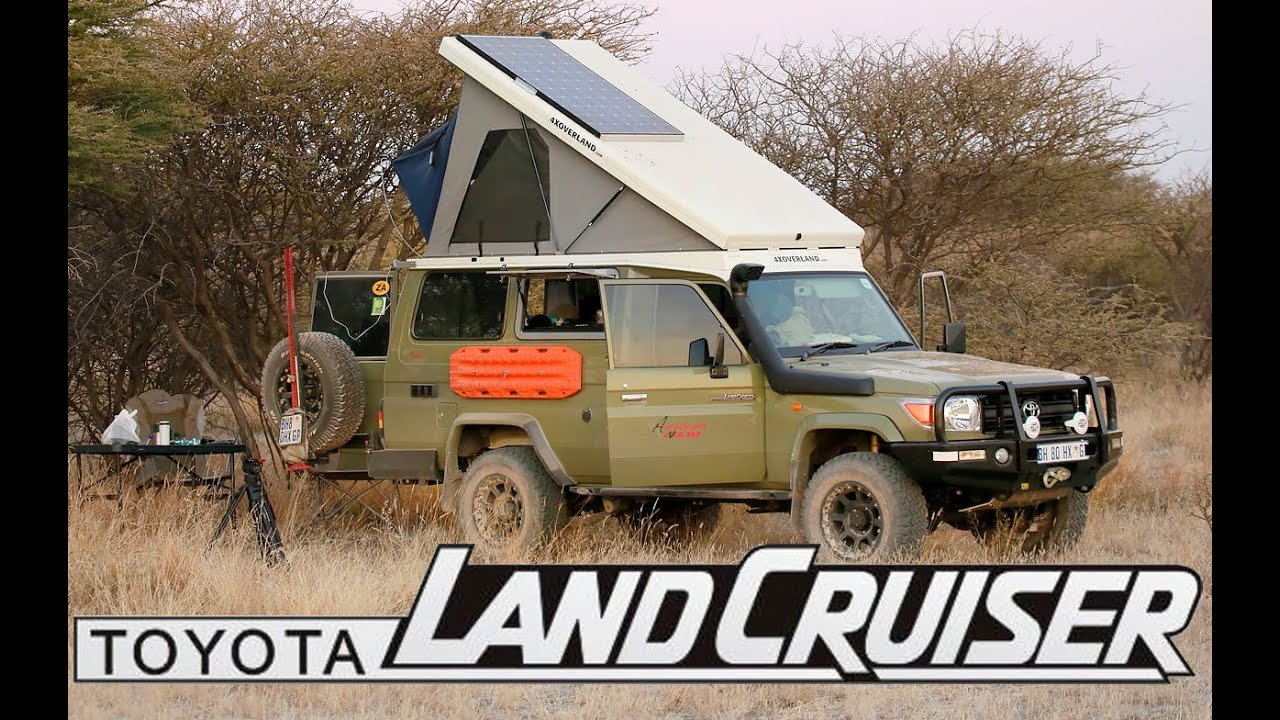 Toyota Van 2018 >> Toyota Land Cruiser - The Ultimate Camper Conversion - YouTube