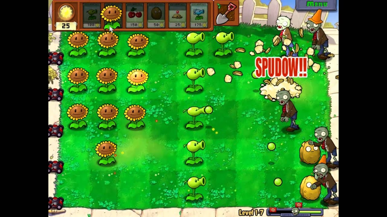 Planet Vs Zombies - Play Free Flash Games Online at ...