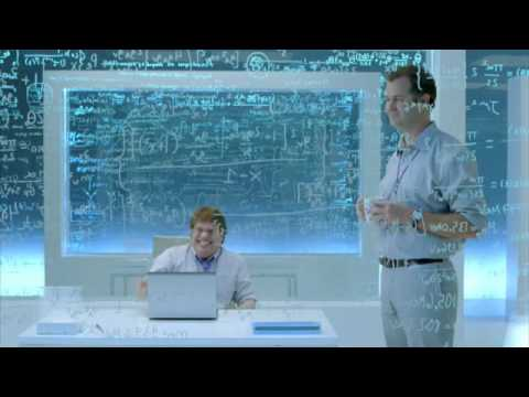 Our jokes aren't like your jokes Intel Plus Joke Advert
