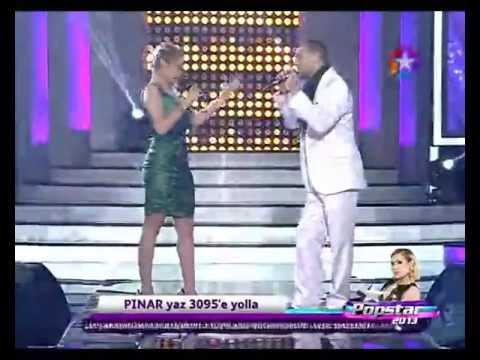 Pınar - İsmail - Nasip Değilmiş Popstar 2013 (3). bölüm  04 Nisan 2013 Perşembe