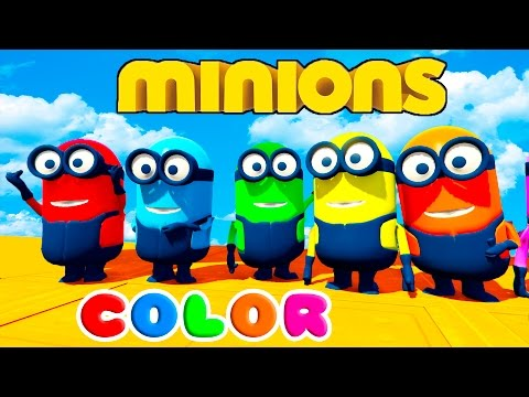 Thumbnail: FUN LEARN COLORS MINIONS BALL PIT JUMPING For Children w/ Nursery Rhymes