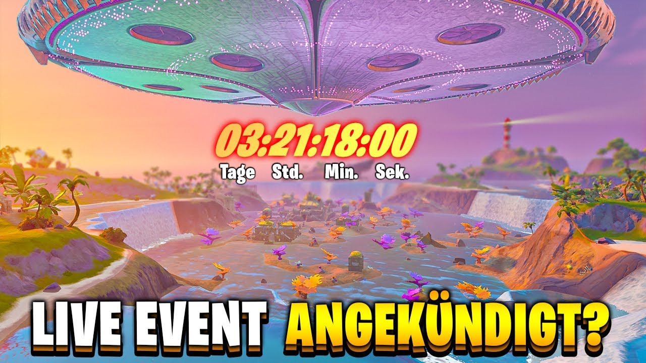 LIVE EVENT ANGEKÜNDIGT & GRATIS ITEMS IM 14 TAGE SOMMER Event - Fortnite Season 7 Deutsch