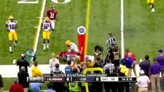 2012 Alabama vs. LSU BCS Championship Highlights