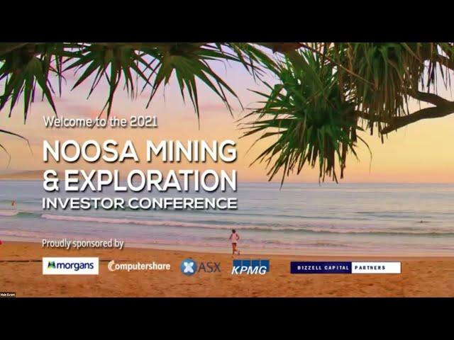 Noosa Mining & Exploration Investor Conference