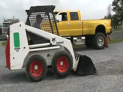 Clark Bobcat 630 - YouTube