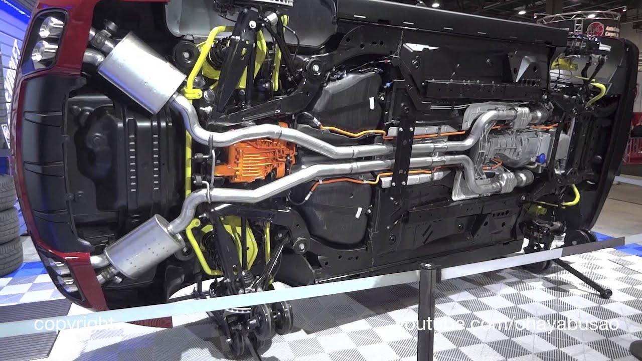 Chevy Camaro Underneath Sema 13 Youtube