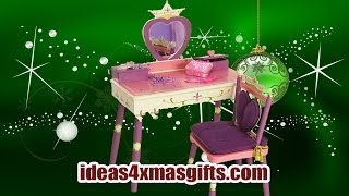 Christmas Gift Ideas 2013 For Kids - Levels Of Discovery Princess Vanity Table And Chair Set