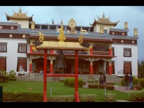 Tibetan Golden Temple in Coorg