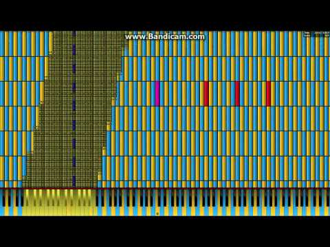Black Midi Synthesia Pi 3 14 Million 3 141 592