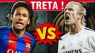 Jogadores que Real Madrid e Barcelona BRIGARAM pra comprar