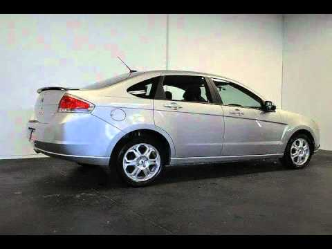 2009 ford focus ses sedan 4d silver santa rosa ca youtube. Black Bedroom Furniture Sets. Home Design Ideas