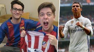 REACCIONES DE UN HINCHA Real Madrid vs Atlético de Madrid 3-0