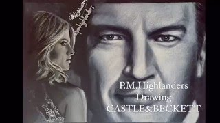 Drawing CASTLE & BECKETT