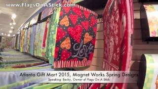 Spring Decorative Garden Flags