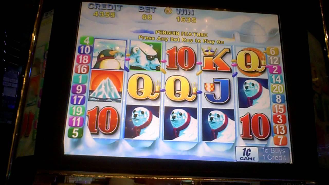 Penguin Pays Slot Machine