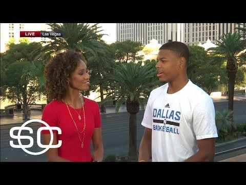 Dennis Smith Jr. Talks Impressive Summer League With Mavericks | SportsCenter | ESPN