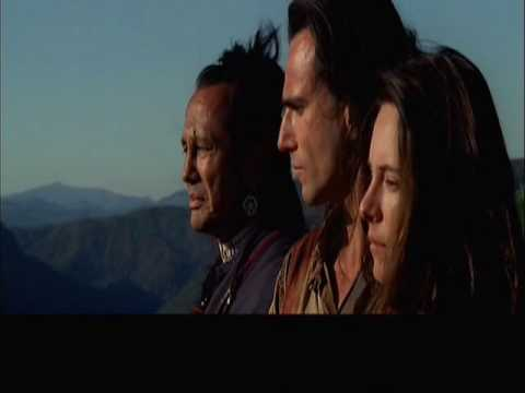 Final scene, The Last of The Mohicans