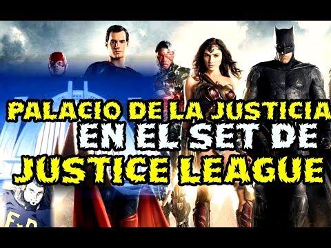 🤔 JUSTICE LEAGUE - HALL OF JUSTICE - EL SALON DE LA JUSTICIA EN EL SET DE RODAJE - WARNER - DCEU