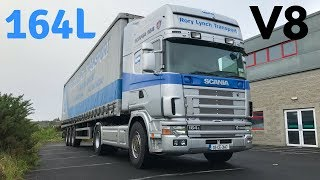 SCANIA 164L V8 480 Topline - Full Tour & Test Drive - Stavros969