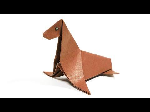 Origami Seal (MP Easy Origami) - Paper Folding / Papier Falten / 종이접기 - Paper Crafts 1101 おりがみ