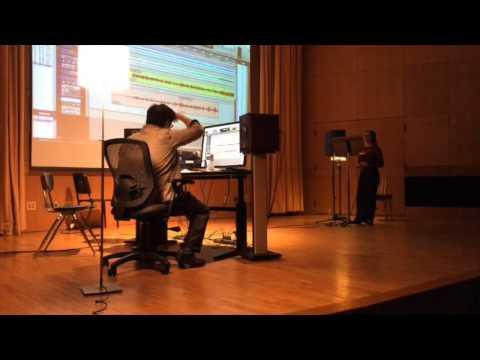 Capital University 2015 Music Tech Workshop - Marc Lacuesta Master Class