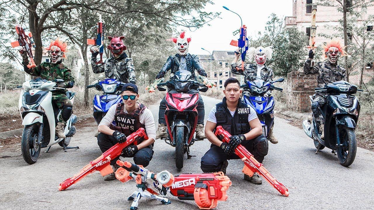 Download NERF WAR : Special Task SWAT Warriors Nerf Guns Battle Attack Criminal Gang Mask Dangerous