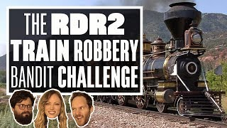 The Red Dead Redemption 2 Bandit Challenge - THE GREAT (?!) TRAIN ROBBERY!