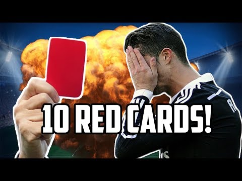 9 Other Times Cristiano Ronaldo Was Sent Off