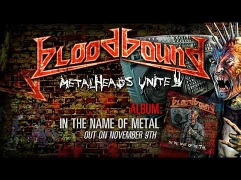 BLOODBOUND - Metalheads Unite (2012) // Official LYRIC VIDEO // AFM Records