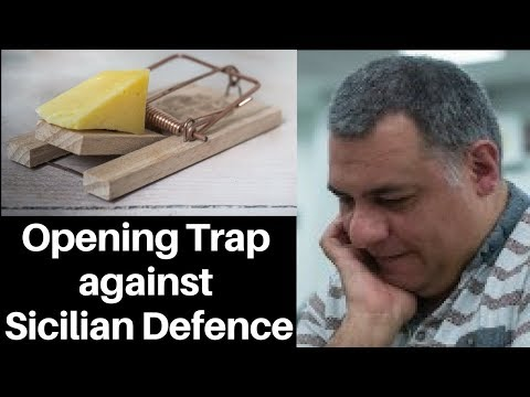 Opening Chess Trap: A trap against the Sicilian Defence : forgo the main line and play c3 instead!