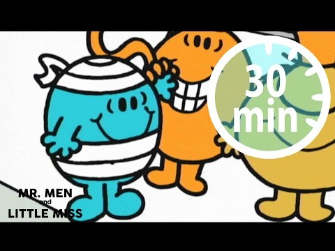 MR MEN & LITTLE MISS - 30 minutes - Compilation #19