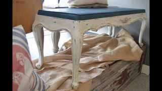 Paint That Fabric With Chalk Paint
