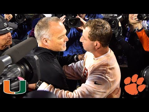 Miami vs. Clemson 2017 ACC Football Championship Full Game