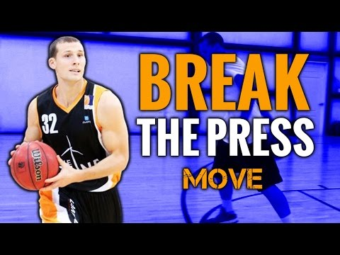 Reverse Through The Legs Basketball Move To Split The Double