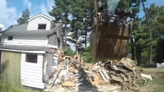 Rumson, New Jersey - Demolition Time Lapse