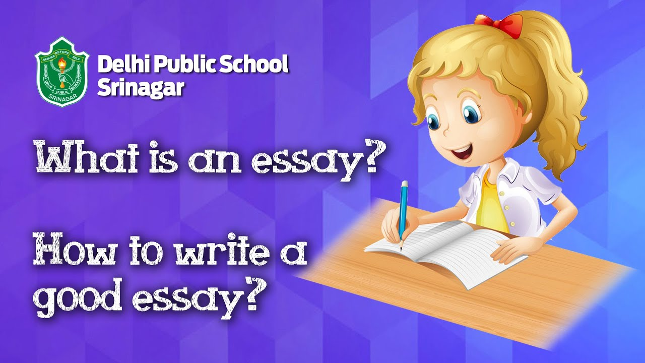 What is an essay & how to write a good essay? // English // Essay writing  for kids