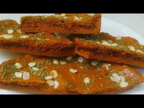 Gur Gatta Recipe /  How to make Gur Gatta  | Honey Comb Candy / Sponge Toffee