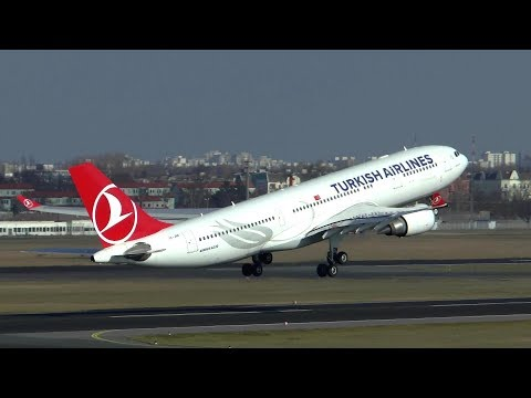 [HD MOVIE] Action spotting on a sunny day at Berlin Tegel AIrport - 17/02/2016