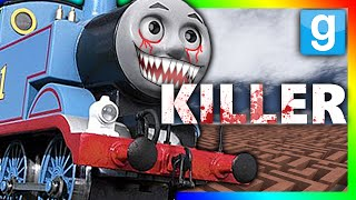 KILLER THOMAS THE TRAIN!?!? | Gmod Horror Maze (THOMAS THE TRAIN CHALLENGE)